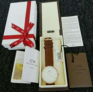 Daniel Wellington Classic 36/40mm Ori BM New