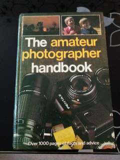 The amateur photography handbook