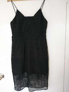 BNWT Forever New Black Lace Dress