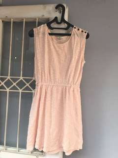 FOREVER 21 Peach Summer Dress