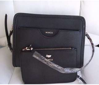 Mimco Black phenomena hip bag - cross body shoulder bag - brand new with tags - rrp$249