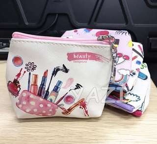 Make up coin purse
