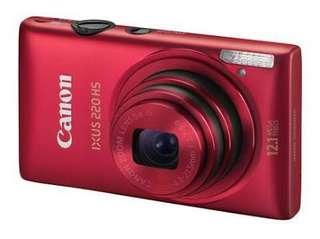 Jual Kamera Canon IXUS 220 HS Merah