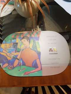 Plastic placemate - FREE