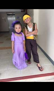 buwan ng wika costume for girl accessories included