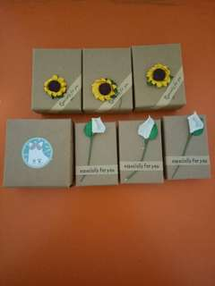 Gift boxes all at $1.50
