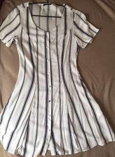 XS Striped Dress