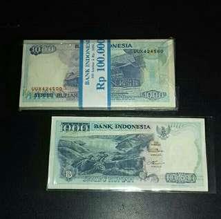 Uang 1000 tahun 1992