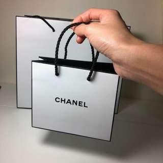 Chanel原廠紙提袋 迷你袋