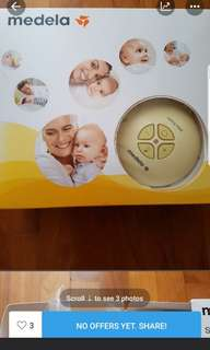 Medela maxi Swing double Breast Pump electric not manual