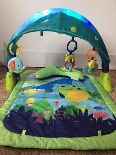 PRICE REDUCED Bright starts light up lagoon playgym