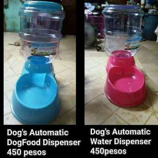 Dog Water/Dogfood Dispenser