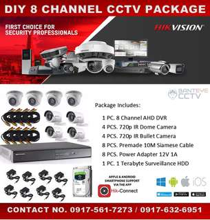 8CH CCVT PACKAGE SALE