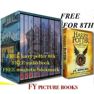 Harry potter boxed set 7+1 books