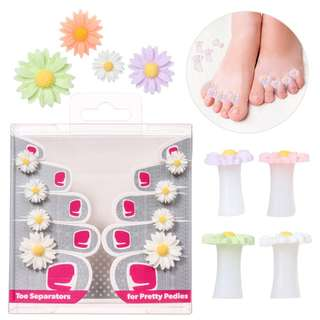 Japanese nail art for toe separator silicone Daisy water drop / nail tools toe separators