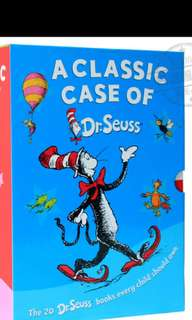 Brand new Dr Seuss collection of books