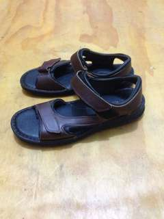 Hush Puppies Leather Sandal Outdoor