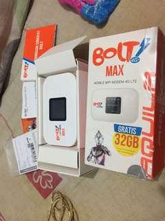 Bolt max  4G LTE