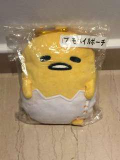🚚 New Gudetama Sanrio pouch name card holder with hook kuji 20cm