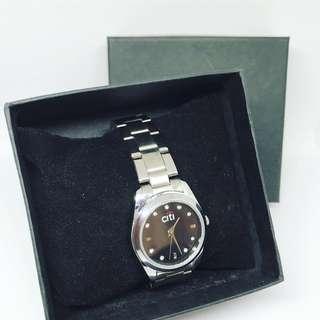 Citi Bank 女裝不鏽鋼手錶 ⌚️