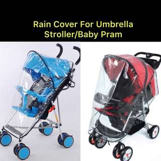 Brand New Rain Cover for Baby Stroller