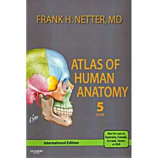 Atlas of Human Anatomy 5th Edition International
