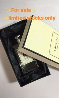 💯Jo Malone Perfumes Authentic US perfumes/testers