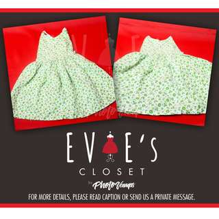 Mint Green Toddler Dress EC2A-003