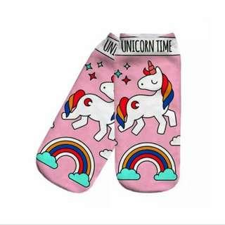 New: Unicorn sock