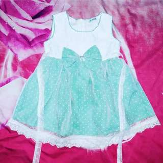 Dress pesta tule Pita tosca