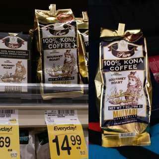 夏威夷出名咖啡(因買入過多,折讓出售)絕對正貨
