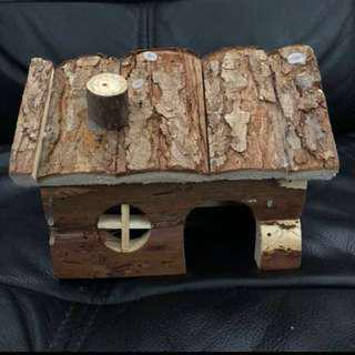 Instock wooden house for hamsters
