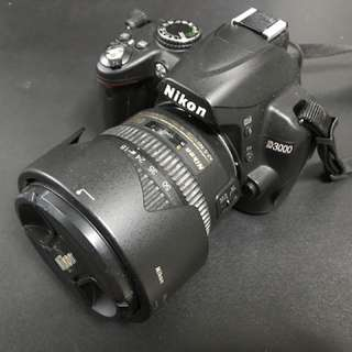 Nikon D3000 DSLR Camera