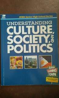 Understanding Culture, Society and Politics (senior high school)