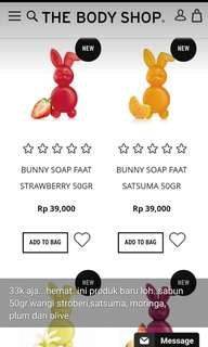 Bunny soap