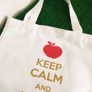 Customized Teacher's Day Gift - Canvas Tote Bag