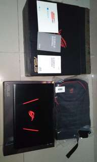 Asus ROG GL553VD RAM 16GB SSD 128