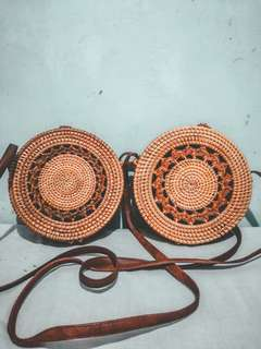 FOR SALE RATTAN BAGS!