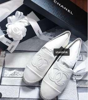 Chanel 漁夫鞋 草鞋 espadrilles 限定色