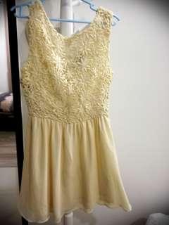 Forever 21 V Back Dress
