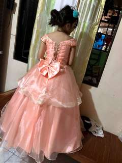 Ball Gown for kids ( Female)