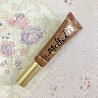 Preloved Too Faced Melted Chocolate Lipstick