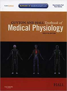 Guyton & Hall Medical Physiology 12 ed. International Edition. Hardbound