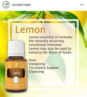 Young Living Lemon Essential Oil 15ml