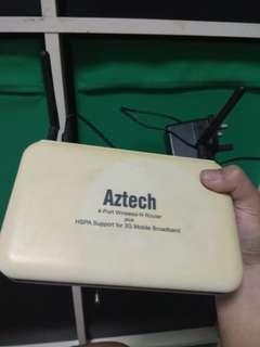 Aztech HW550-3G Router