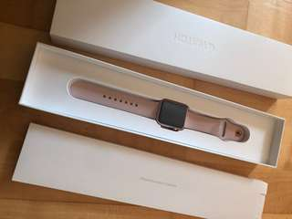 全新 Apple Watch series 1 38mm rose gold aluminium iPad