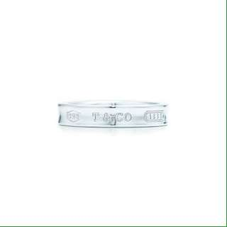 Tiffany and Co 1837 narrow ring
