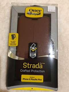 Auth Otterbox Strada Series Leather Folio for iPhone 6 Plus/6s Plus