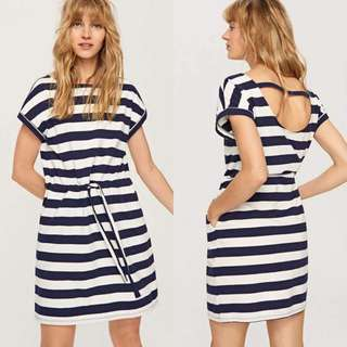 Stripes Detailed Dress