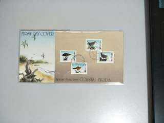 Singapore FDC Coastal Birds